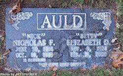 Elizabeth Deane Betty <i>Faucett</i> Auld