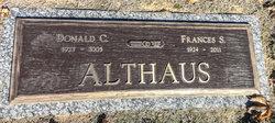 Frances <i>Stone</i> Althaus