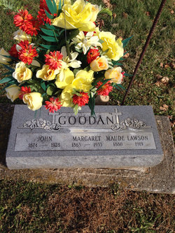 Margaret Jane <i>Vanatta</i> Goodan