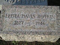 Leota N <i>Davis</i> Botkin