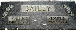 Violet M <i>Fields</i> Bailey