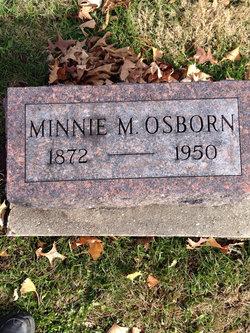 Minnie M <i>Eskew</i> Osborn