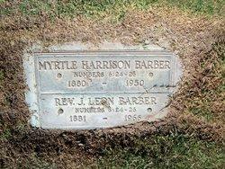 Annie Myra Myrtle <i>Harrison</i> Barber