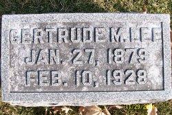 Gertrude May <i>Lang</i> Lee
