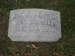Ida C. Snyder