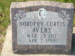Dorothy <i>Curtis</i> Avery