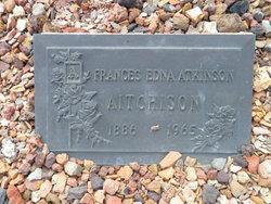 Francis Eleanor Edna <i>Clouston - Atkinson</i> Aitcheson