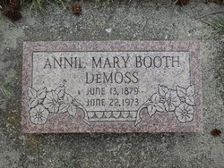 Annie Mary <i>Booth</i> DeMoss