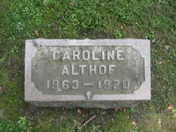 Caroline Althof