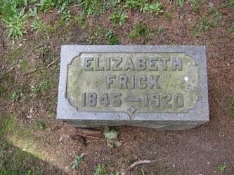 Elizabeth <i>Wyant</i> Frick