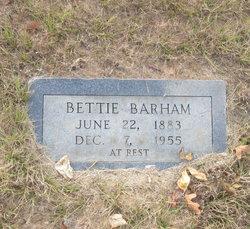 Sarah Bettie <i>McWhorter</i> Barham