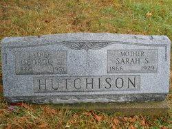 Sarah Sophia <i>Sheward</i> Hutchison