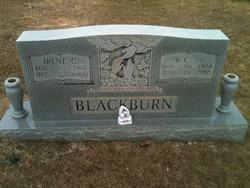 Willie Curry Will or W.C. Blackburn, Sr