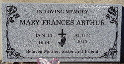Mary Frances Fran <i>Archer</i> Arthur