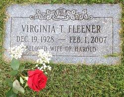 Virginia Theis <i>Tosser</i> Fleener