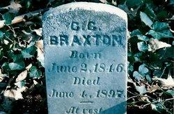Christopher Columbus Tip Braxton, Sr