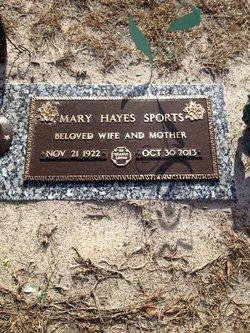Mary Kathleen <i>Hayes</i> Sports