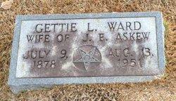 Gettie L. <i>Ward</i> Askew