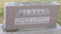 Jennie <i>Marts</i> Cook