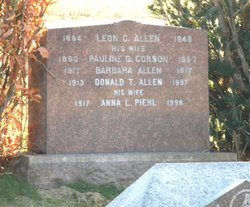 Anna L. <i>Piehl</i> Allen