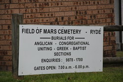 Field of Mars Cemetery