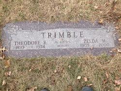 Theodore Roosevelt Red Trimble