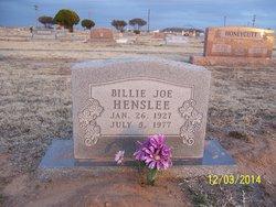 Billie Joe Henslee