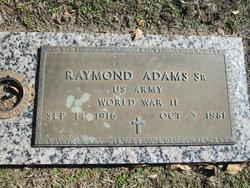 Raymond Adams, Sr