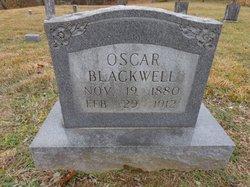Oscar Blackwell