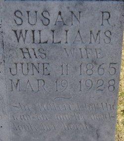 Susan Rebecca <i>Holdiness</i> Williams