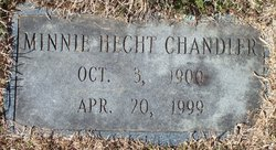 Minnie <i>Hecht</i> Chandler