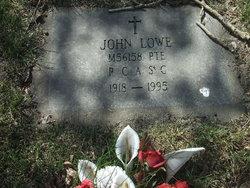 Pte John Lowe