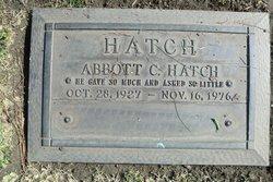 Abbott Cecil Hatch
