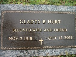 Gladys <i>Burke</i> Hurt