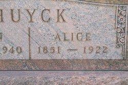 Alice <i>Jones</i> Huyck