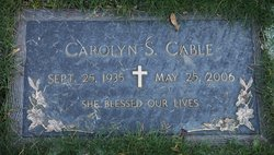Carolyn S <i>Myers</i> Cable