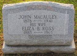 Eliza Beattie <i>Ross</i> MacAuley
