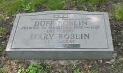 Dufferin Duff Roblin