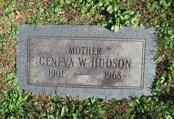 Geneva <i>White</i> Hudson