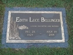 Edith <i>Luce</i> Bellinger