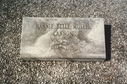 Nannie Belle <i>Mullis</i> Cannon