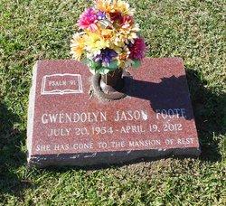 Gwendolyn <i>Jason</i> Foote