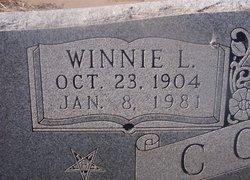 Winnie Leta <i>Gideon</i> Combs