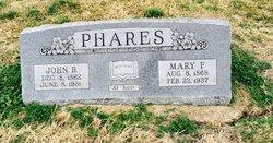 Mary Frances <i>Thompson</i> Phares
