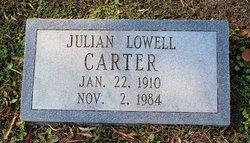 Julian Lowell Carter