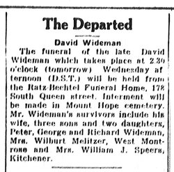 David Wideman