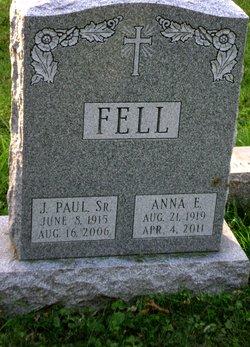 Anna Elizabeth Betty <i>Van Horn</i> Fell