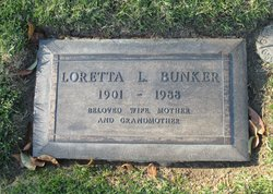Loretta L <i>Lancaster</i> Bunker