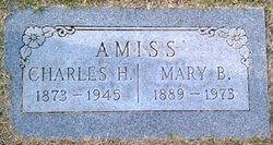Myra Mae Mary <i>Barton</i> Amiss