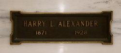 Harry L Alexander